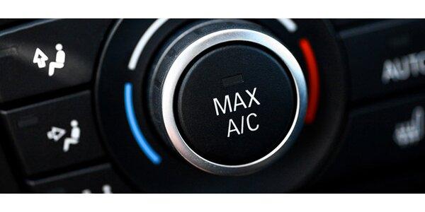 Čištění a plnění klimatizace vozu