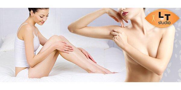 Trvalá epilace laserem - celé tělo či vybrané partie