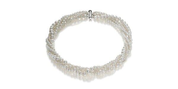 Dámský perlový náhrdelník Orchira