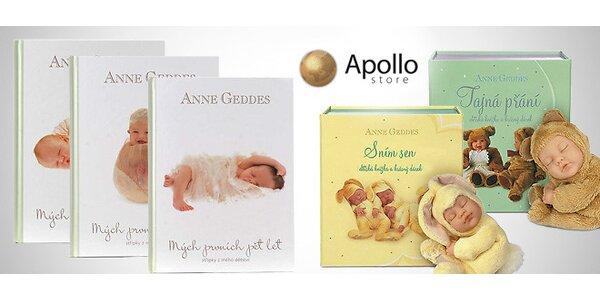 Knížky od Anne Geddes pro děti a jejich maminky