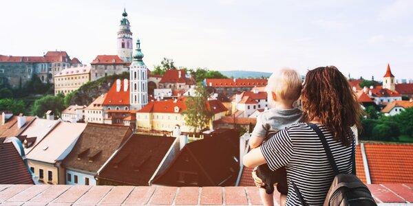 Český Krumlov z pohodlí rodinného apartmánu