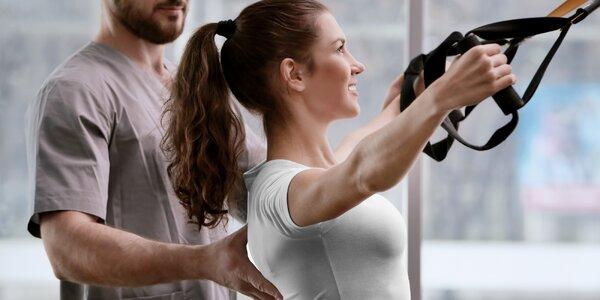 90 min. fyzioterapie a trénink pro uvolnění těla