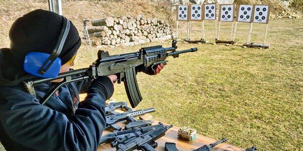 Střelecké balíčky s velkým výběrem střelnic