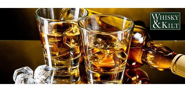 Degustace 6 panáků skotské whisky v klubu Whisky&Kilt