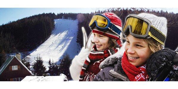 Skipas do ski areálu Klepáčov
