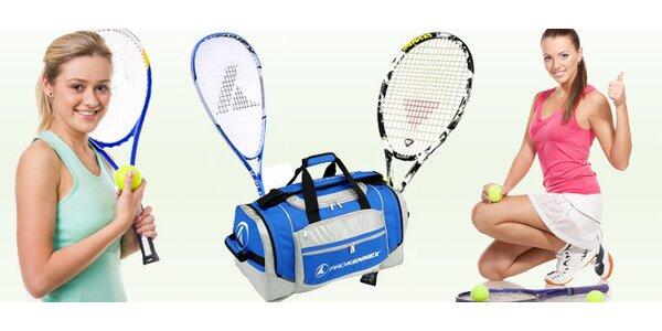 Squashová raketa Pro Kennex X-Plode, tenisová raketa či taška