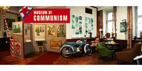 Vstupenky do Muzea komunismu pro dva