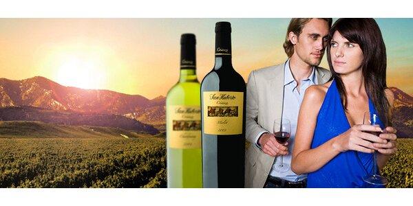 DVĚ argentinská vína zlimitované kolekce dle výběru