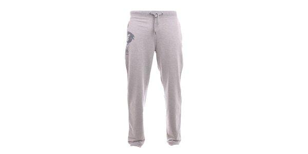 Pánské světle šedé tepláky Exe Jeans