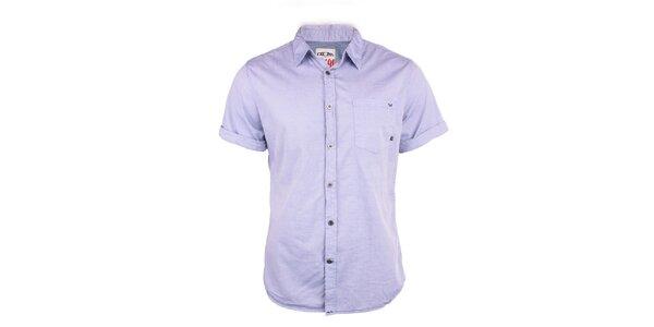Pánská světle fialová košile Exe Jeans