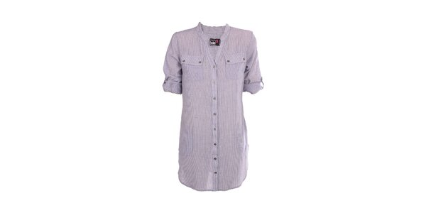 Dámská dlouhá pruhovaná košile Exe Jeans