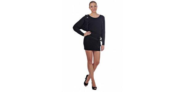 Dámské černé mini šaty Killah