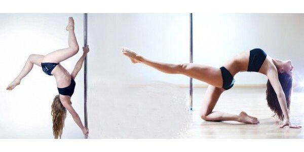 2hodinový workshop tance u tyče Pole Dance