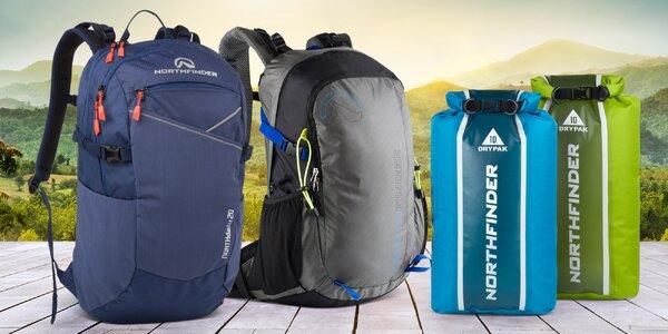 Outdoorové batohy a vaky na kolo, vodu i trek