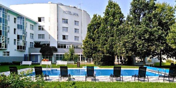 4* letní wellness relax se stravou i bazénem