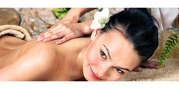 60minutová thajská masáž dle vlastního výběru
