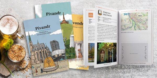 Pivandr: průvodce českými pivovary pro sběratele