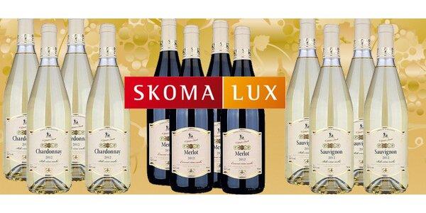 12 moldavských vín z kolekce Grand
