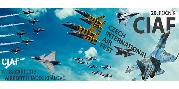 Světová letecká přehlídka CIAF 2013