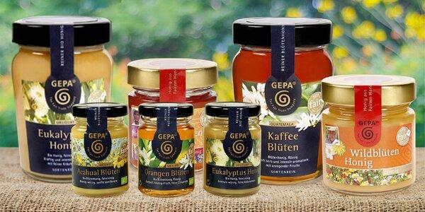 Fair trade medy s eukalyptem i kávovníkem