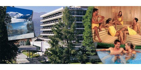 3denní wellness pobyt v hotelu Golf**** ve Slovinsku
