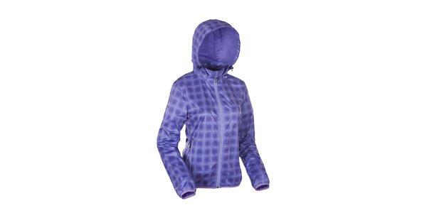 Dámská fialová károvaná bunda Envy
