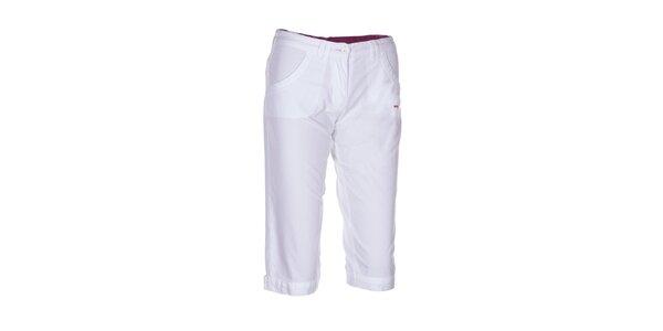 Dámské bílé 3/4 kalhoty Envy