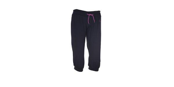 Dámské černé fitness kalhoty Envy
