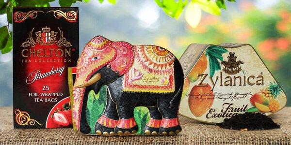 Prvotřídní čaje ze Srí Lanky: sáčkové i sypané