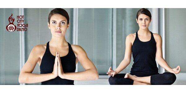 Permanentka na hot yogu