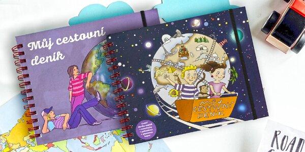 Kreativní cestovní deník pro děti od 6 či 9 let