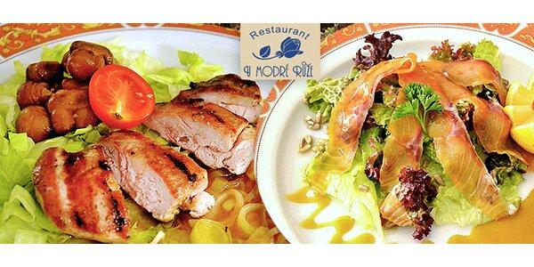 Luxusní 7chodové degustační menu pro dva