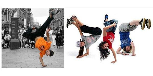 Kurzy breakdance pro začátečníky - 6 lekcí