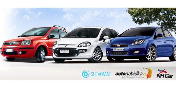 Nový Fiat Punto Evo a další modely za skvělou cenu
