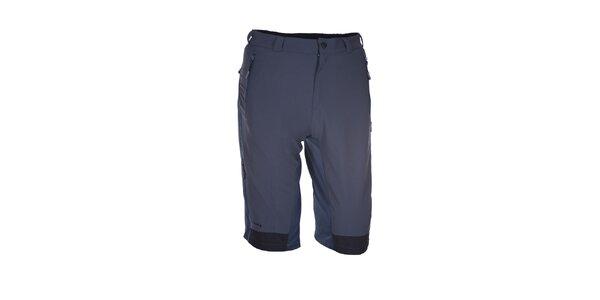 Pánské šedo-modré outdoorové šortky Envy