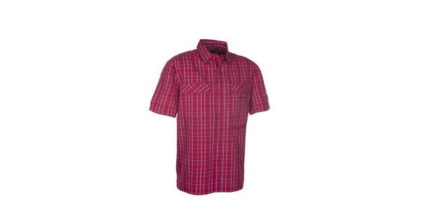 Pánská červená kostkovaná košile Envy