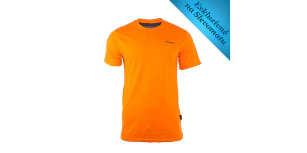 Pánské oranžové tričko s logem Envy