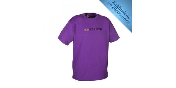 Pánské fialové tričko s logem Envy