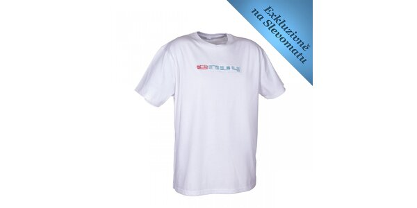 Pánské bílé tričko s logem Envy