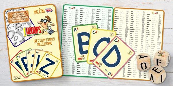 Naučte se anglicky: zábavná a naučná hra ! HOOOPS