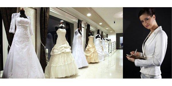 699 Kč za den se svatební agentkou. Sleva 65%.
