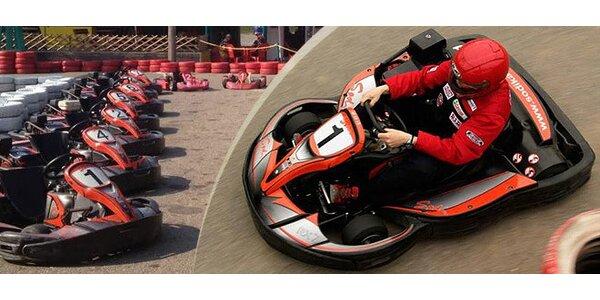 30% sleva na 4-7 jízd na motokárách v Modřicích
