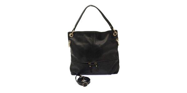 Dámská černá kožená kabelka Free for Humanity 272d785b70e