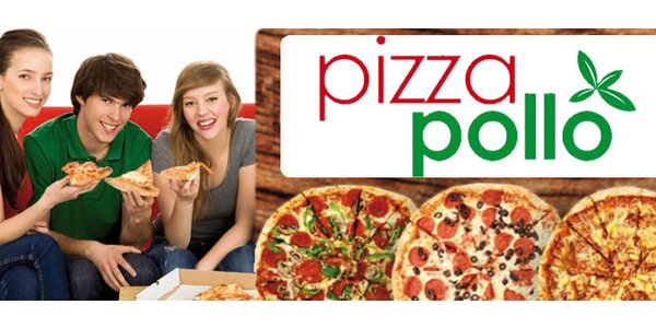 159 Kč za 2 pizzy dle vašeho výběru v Pizze Pollo Olomouc! Sleva 51%