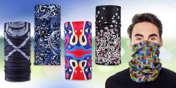 Multifunkční elastický nákrčník: 18 designů