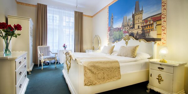 Pobyt ve 4* hotelu v historickém centru Prahy