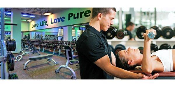 Neomezený vstup do fitness, lekce s trenérem a InBody!