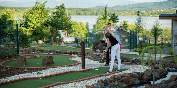 Hodina adventure golfu pro páry i rodiny