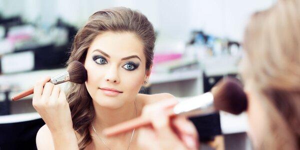Kurz osobního líčení nebo dámská make up jízda