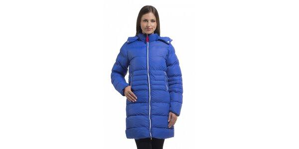 Dámská zářivě modrá péřová bunda Bleifrei